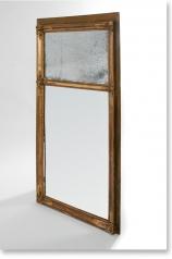 Antiker Trumeau, Pfeiler-Spiegel, Frankreich