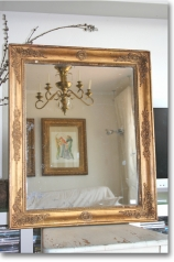 Antiker Empire-Spiegel, Frankreich, um 1825