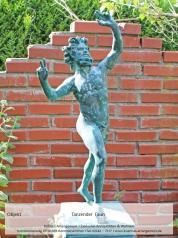 Tanzender Faun, Bronze